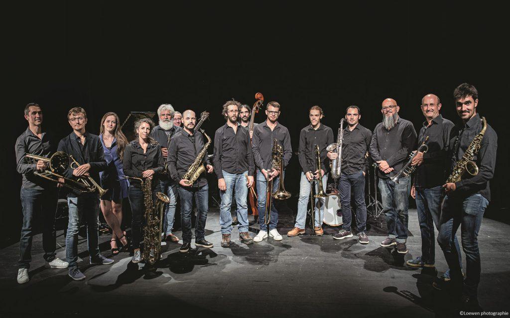 West Jazz Ochestra invite Baptiste Herbin